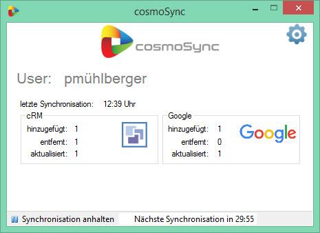 cosmoSync - Synchronisation