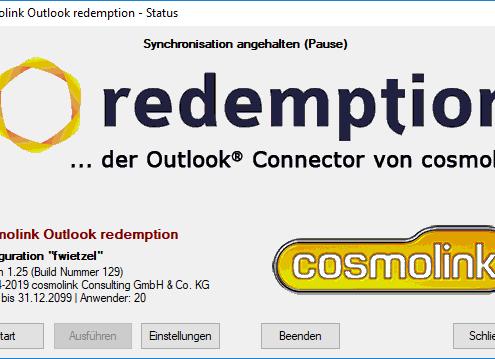 redemption - Start
