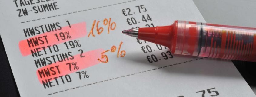 Umsatzsteuersenkung